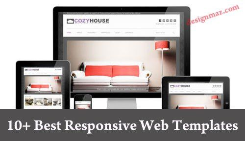 10+ Best Responsive Website Templates for 2014 - DesignMaz