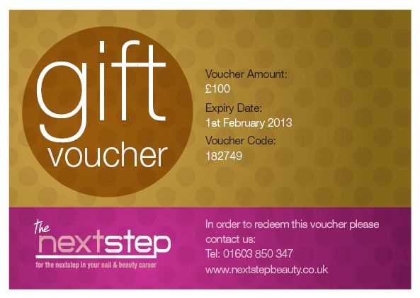 Gift Vouchers - Next Step Beauty