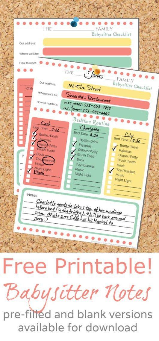 Best 25+ Babysitter checklist ideas on Pinterest | Babysitting ...