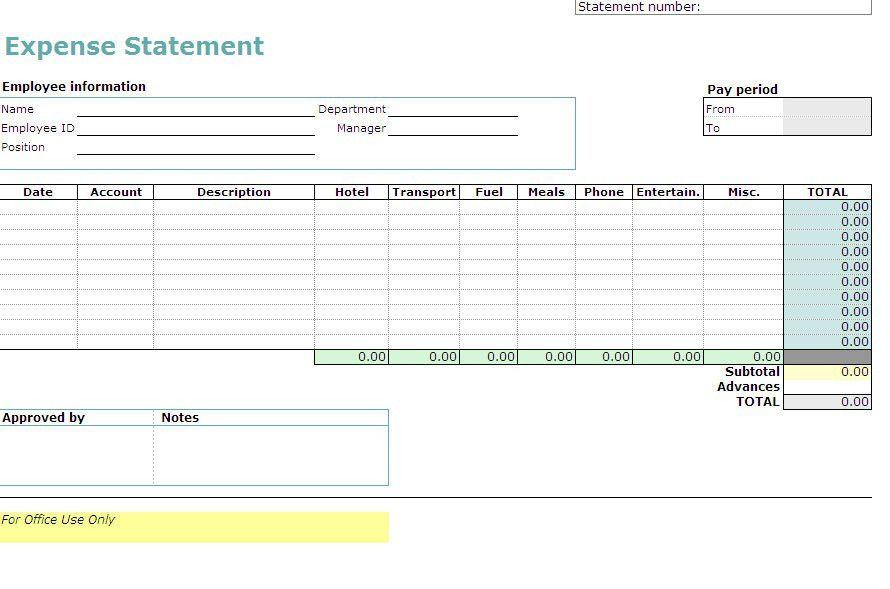 Expense Tracking Template | Tracking Expenses