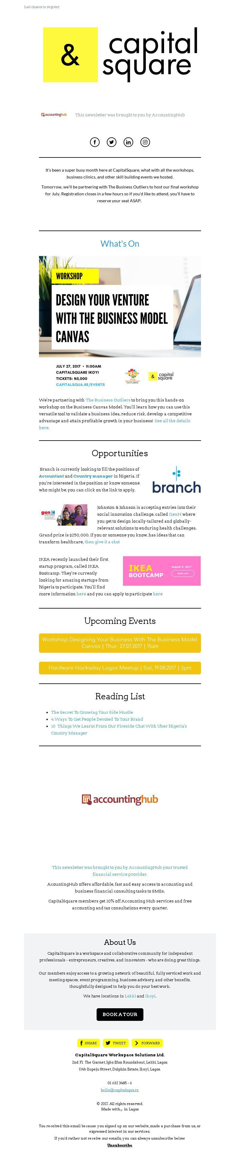 Email Newsletter Design Gallery and Examples | MailerLite