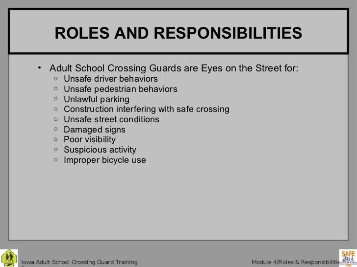 Crossing Guard 4 Roles