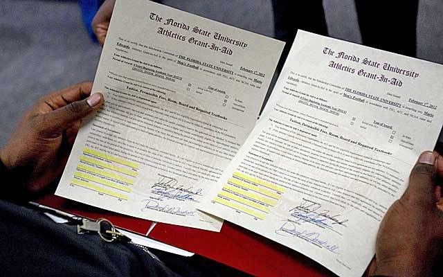 Sign of the times: Does National Letter of Intent need reform ...