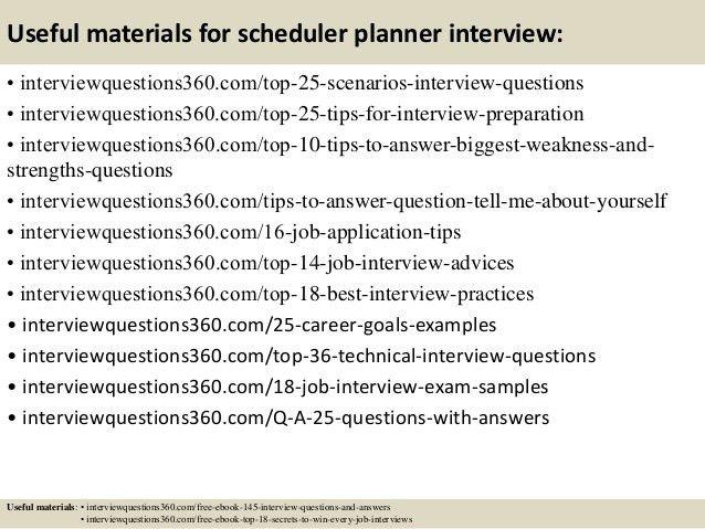 image result for scheduler job description. planner resume. master ...