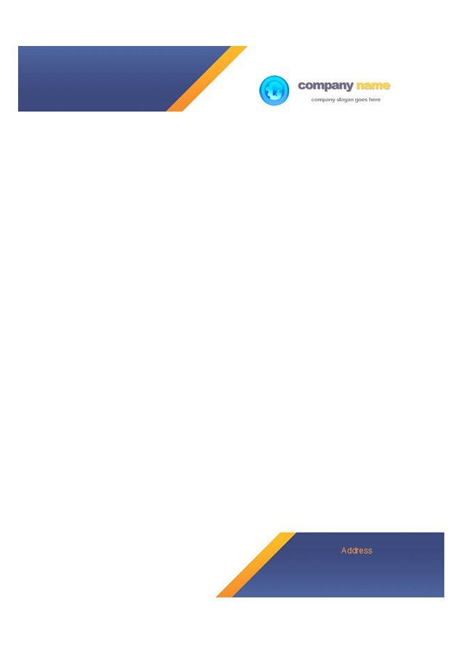 Letterhead-Template-22 | Furtex Limited. | Pinterest | Letterhead ...