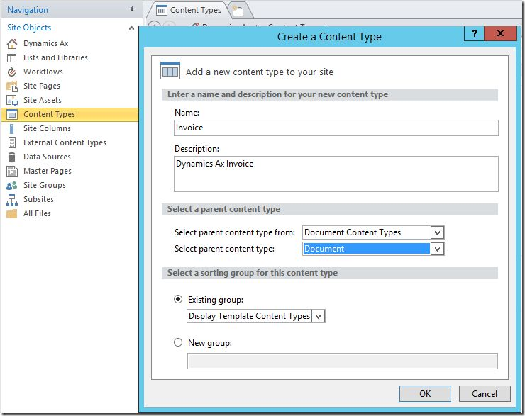 Publish Dynamics Ax documents to SharePoint | ErpCoder