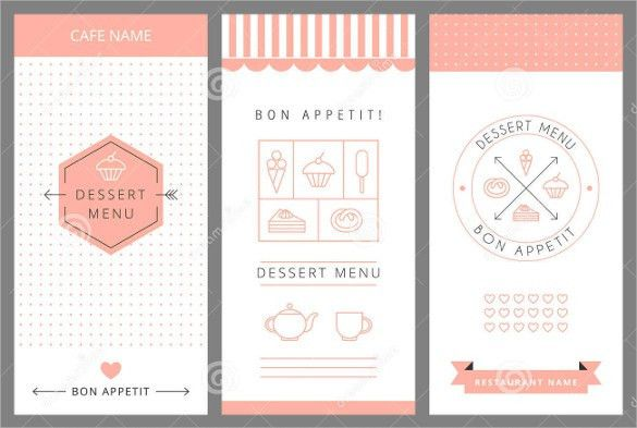 Dessert Menu Template – 21+ Free PSD, EPS Format Download! | Free ...