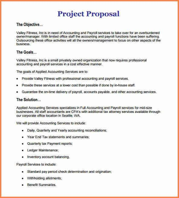9+ how to write a proposal for a project work | Project Proposal