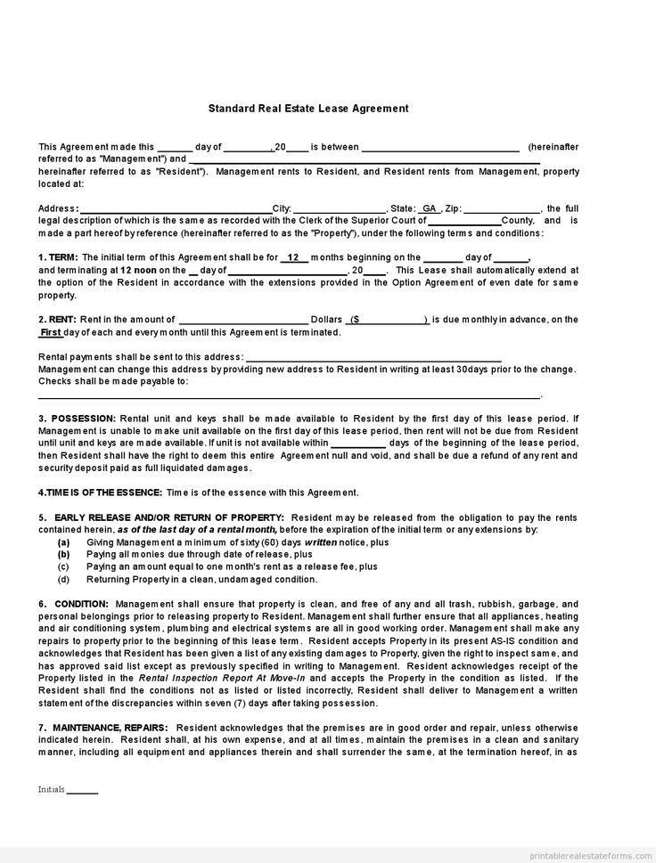 900 best Printable Template Legal form images on Pinterest | Free ...