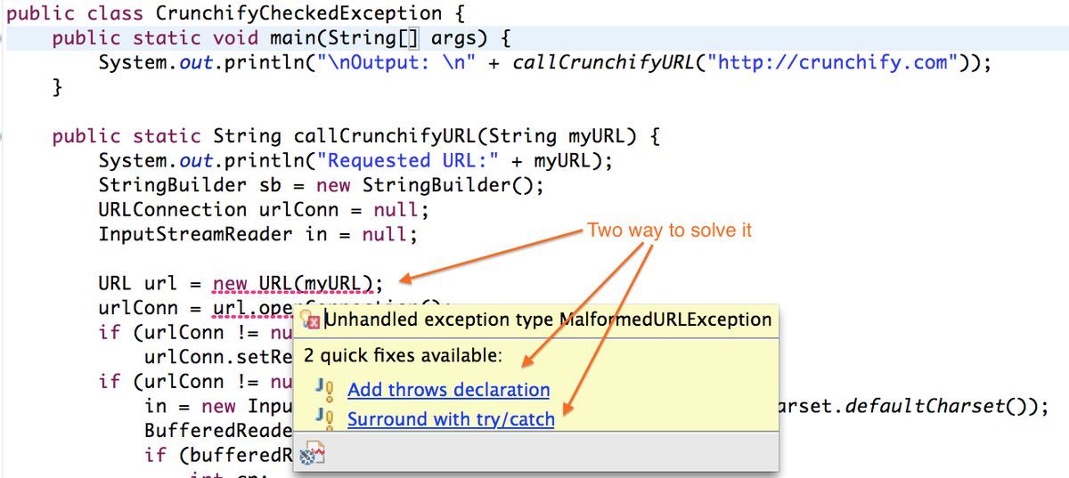 Better Understanding on Checked Vs. Unchecked Exceptions - How to ...
