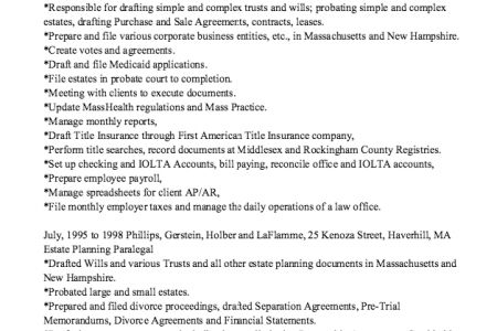 100+ Paralegal Cover Letter | Executive Administrative Assistant ...
