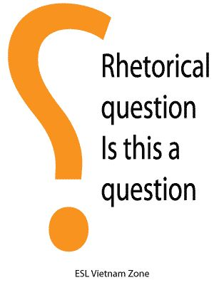Litotes, Antithesis, Rhetorical question, Question- in- the ...
