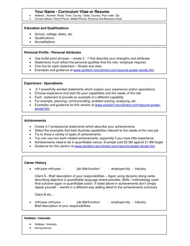 replace the prepopulated content word template resume functional ...
