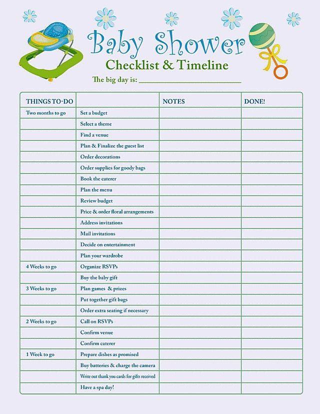 Baby Shower Checklist for the Best Management | Horsh Beirut