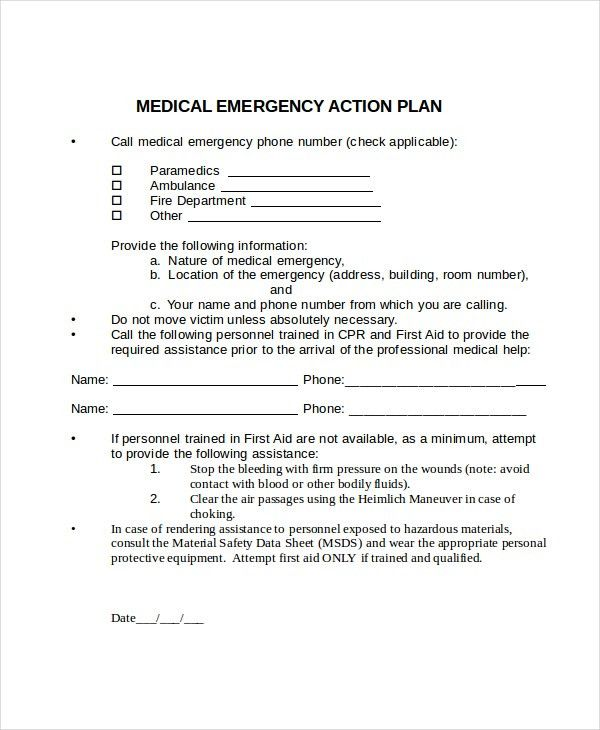 Action Plan Template - 10+ Free Word, PDF Document Downloads ...