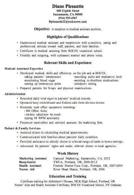 Lovely Idea Medical Secretary Resume 8 Medical Secretary Resume ...