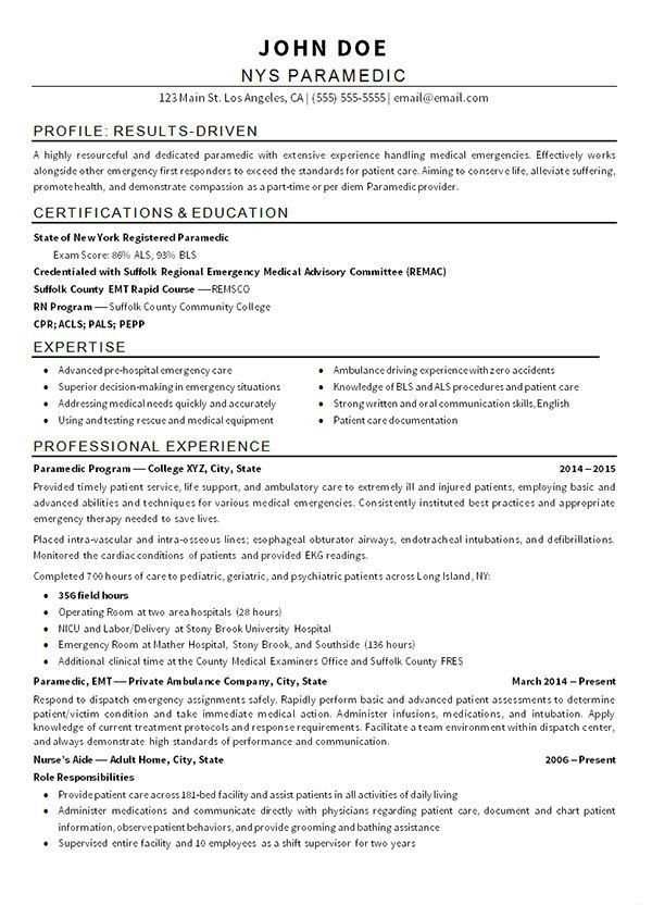 266 best Resume Examples images on Pinterest | Resume examples ...