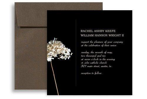 Layout Petals Background Microsoft Word Wedding Invitation 5x5 in ...