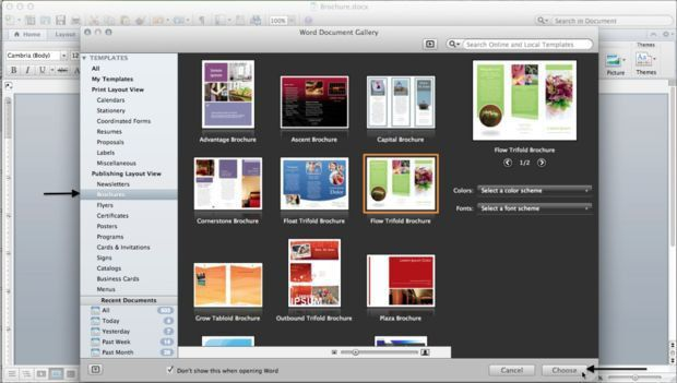 How to Make a Brochure in Microsoft Word for a Mac: 10 Steps