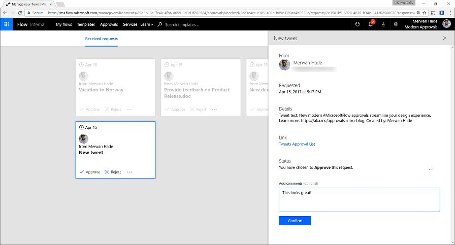 Introducing Modern Approvals in Flow | Flow Blog