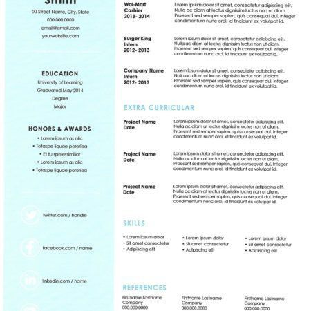 Resume Templates Archives - Great Resumes