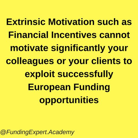 Discover how to motivate your colleagues to exploit european ...