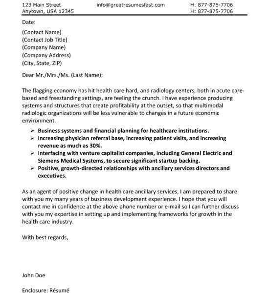 Cozy Design Healthcare Cover Letter 4 Care Example - CV Resume Ideas