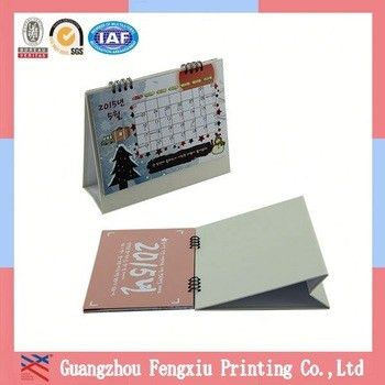 Free Sample Top Class Various Yearly Design Plastic Table Calendar ...