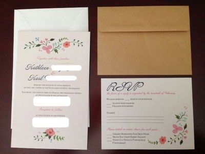 Show me your Vista Print Invites | Weddings, Style and Decor ...