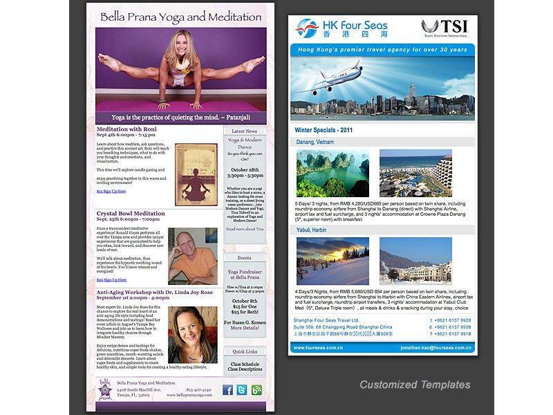 Balderrama Design - Sacramento - Email Ad Design - Email Marketing