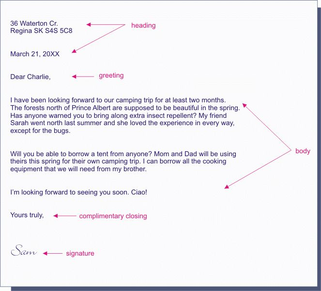 4+ informal letter format | artist resumes