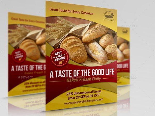21+ Bakery flyer Templates - PSD, Vector EPS, JPG Download ...
