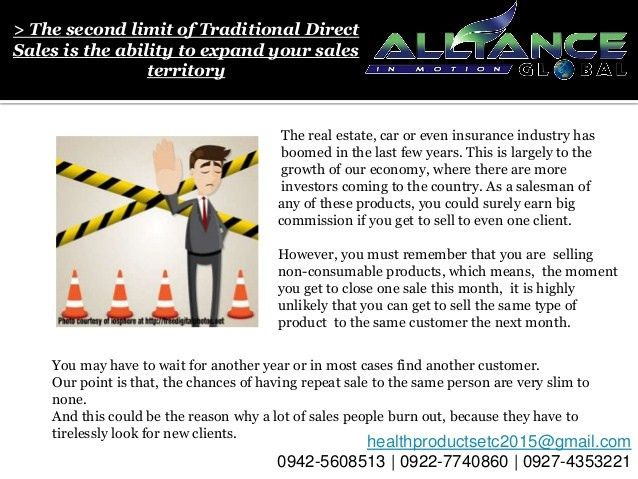 AIM Global Business VS Traditional Direct Selling Business