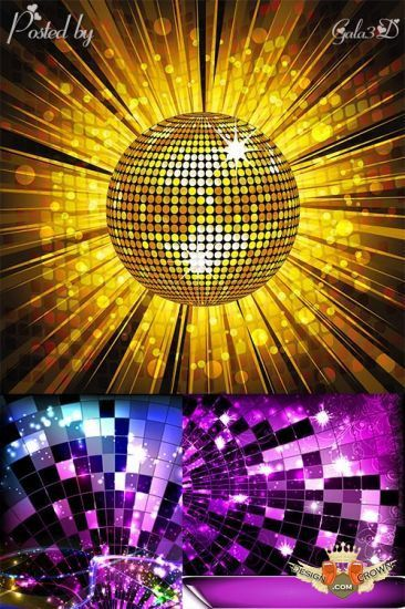 Night club backgrounds and pictures for flyers and brochures design