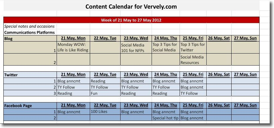 Content Calendar 101: Tips and Tools - Vervely
