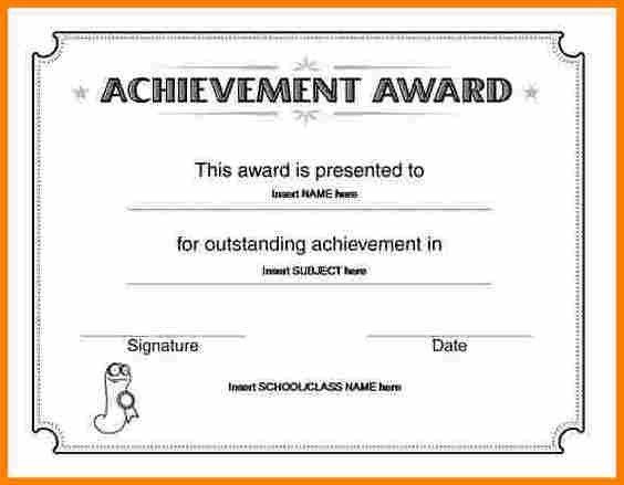 Award Certificates Word. Word Certificate Award Certificates Word ...