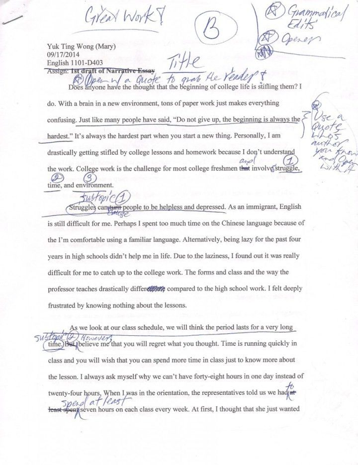 dialogue in an essay example
