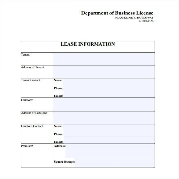 Sample Leasing Agreement - 7+ Documents In PDF, Word