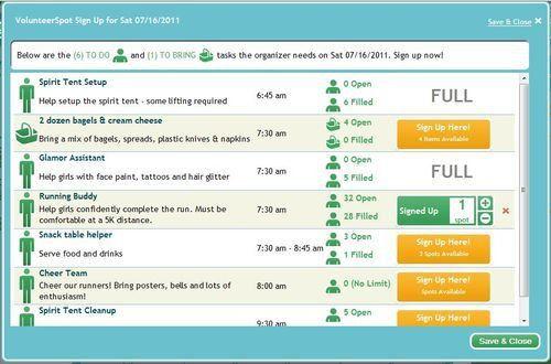 Free Volunteer Registration Template - Online SignUp Blog by ...