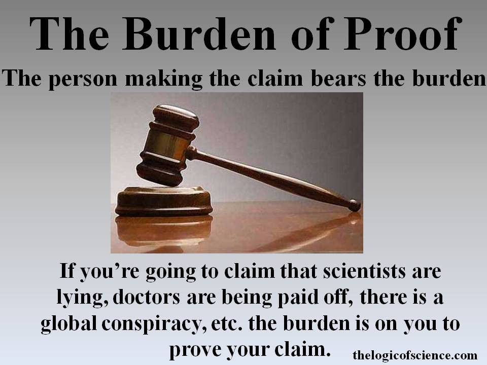 The Rules of Logic Part 5: Occam's Razor and the Burden of Proof ...