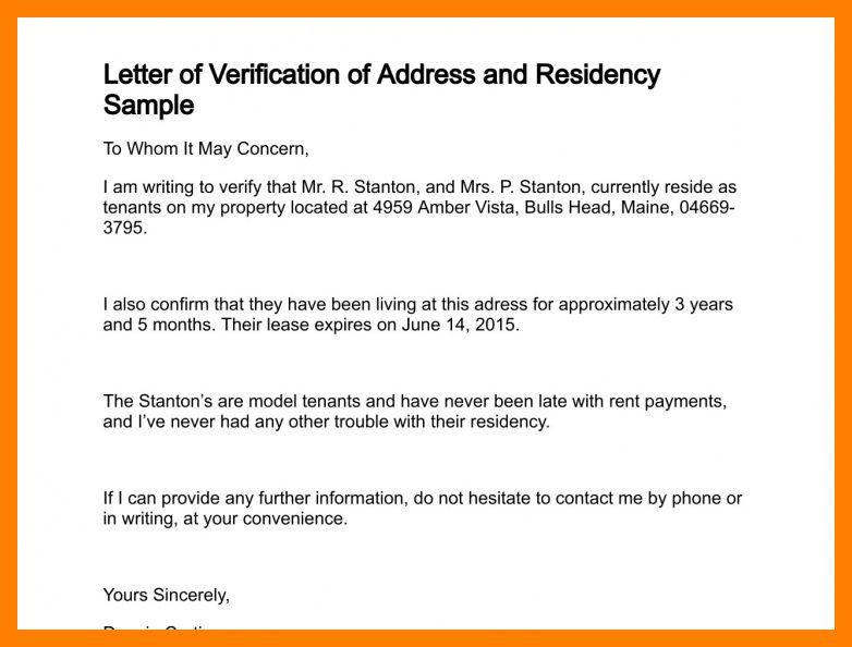 5+ address proof letter | producer resume