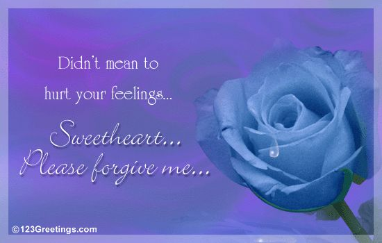 A Heartfelt Message... Free I Am Sorry eCards, Greeting Cards ...