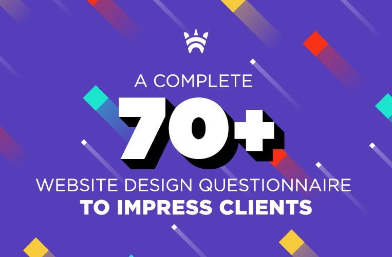 A Complete 70+ Website Design Questionnaire to Impress Clients ...