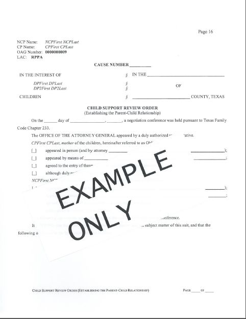 current uaw contract child support agreement between parents form ...