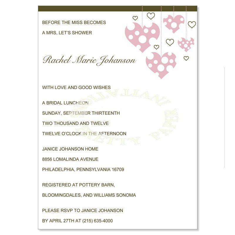 Pink & Brown Wedding Invitation Kit - Veronica Bloom DIY Printable ...