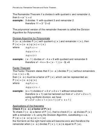 Section 4.3 - The Chinese Remainder Theorem