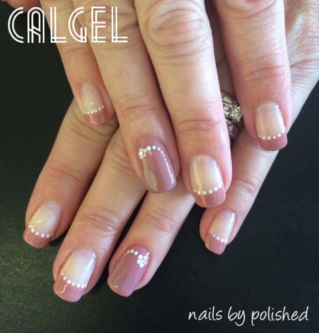 Calgel Nails Grey Glitter X By Amy Black Instagram Beautiquenailsandmakeup Pinterest Spring Nailakeup