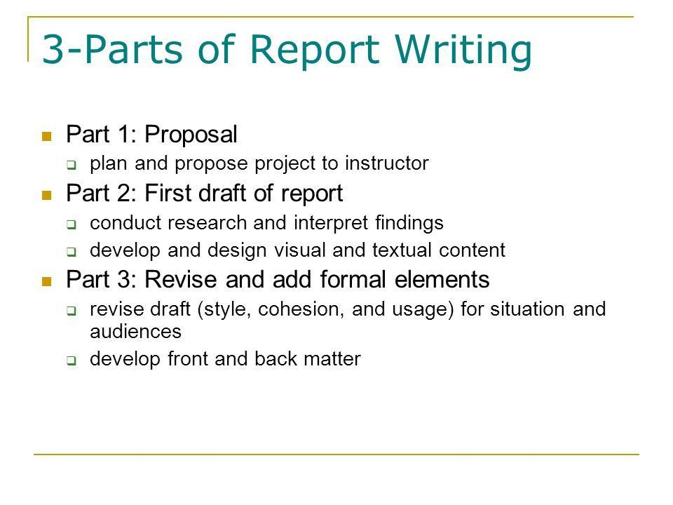Technical Report Writing Dr. Shelley Thomas. Overview Selecting ...