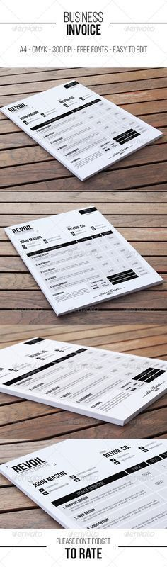 Business Invoices - formats.csat.co