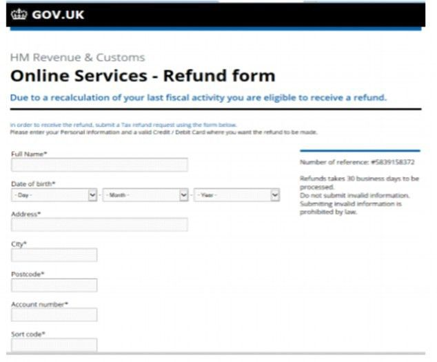 HMRC admits cyber criminals are hijacking people's online tax ...